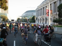 Highlight for album: San Francisco Critical Mass