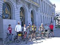 Highlight for album: 4th Annual Palo Alto to San Francisco Ride 2008